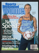 Brandi Chastain Signed July 2001 Sports Illustrated for Women Personailzed Auto
