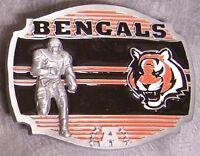 NFL Pewter Belt Buckle Cincinnati Bengals NEW