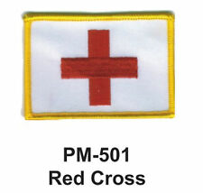 "3"" RED CROSS Embroidered Military Patch"