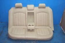 Jaguar X-Type Rücksitz Leder Sitz hinten Rücksitzbank