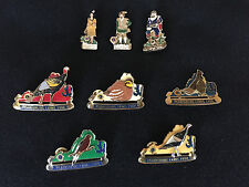 Lions Club Pins Virginia MD-24  8 PIns includes Pocahontas, Sir Walter Raleigh