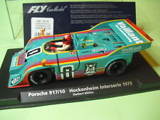 FLY CAR MODEL PORSCHE 917/10  VAILLANT  1975  HCKENHEIM NEW  1/32