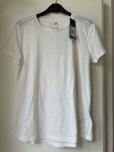 BNWT Adidas Climate Off White  T Shirt Size L