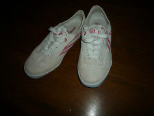 tennis basket marque Feiyue blanche et rose taille 39 occasion