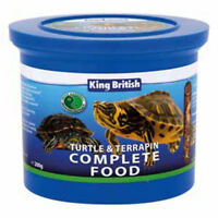 King British Turtle And Terrapin Complete Balanced Food With Krill 200g