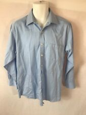 Men's MICHAEL MICHAEL KORS Blue Long Sleeve Button Down Dress Shirt - Sz 16