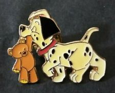 Disney Japan Lucky and Teddy Bear 101 Dalmatians Tdl Pin