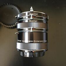 VIVITAR Automatic Extension Tube Set 12,20 ,36 mm AT-3