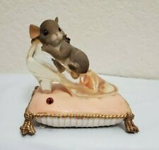 Charming Tails You'Re The One I'Ve Been Looking For Mouse Slipper Limited Ed