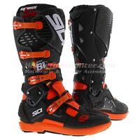 Sidi Crossfire 3 SRS J. Prado Offroad MX Boots, JP61 Orange Black, Free Shipping