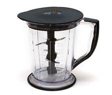 Ninja Master Prep Blender Food Processor QB1004 Pitcher 48 oz 6 cups + Lid + Bla