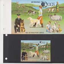 Isle of Man Presentation Pack 1996 Working Dogs Stamp Sheet 10% off 5