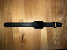Apple Watch Series 3 42mm Space Gray Alum Case w/ Black Sport Band *original box