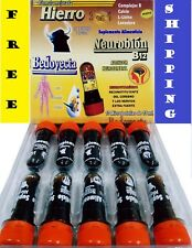 ampolletas BEDOYECTA NEUROBION HIERRO 10 Botellas 15ml C/U 3 en 1 multivitamins