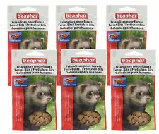 Beaphar Ferret Bits Treats Ferrets AIDS Hairballs 150g 35g