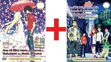 ANIME DVD~Ano Hi Mita Hana No Namae(1-11End+Movie)English sub FREE SHIPPING+GIFT