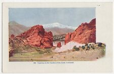 USA, Gateway to The Garden of The Gods, Colorado Early Embossed Postcard, B419