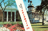 Postcard Greetings from Columbia South Carolina
