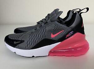 Nike Air Max 270 GS Youth Sz 5Y/ Women's Sz 6.5 Smoke Grey Pink 943345-031 NEW!!