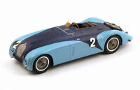Bugatti 57 G No.2 (Le Mans Winner 1937) in Blue (1:43 scale by Spark 43LM37)
