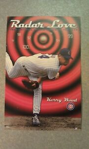 Kerry Woods #6503 Chicago Cubs RADAR LOVE 1998 Rookie MLB MINI 3.5 x 5.5 POSTER