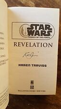 SIGNED Star Wars Legacy of the Force - Legends: Revelation 8 by Karen Traviss