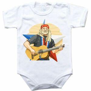 Baby bodysuit Willie Nelson, gift, One Piece, jersey