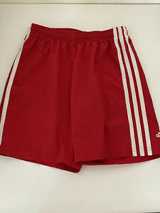 Adidas Red Shorts youth Climalite Soccer Size Medium