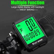 WEST BIKING Fahrradcomputer Regensicherer Touchscreen-Tachometer mit Speedometer