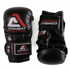 Combat Athletics MMA Sparring Gloves Adult Essential 8oz Grappling Fight Gloves