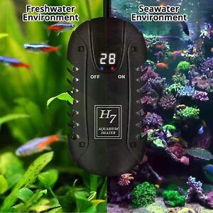 H7 Submersible Mini Aquarium Heater Quartz Blastroof Heater LED Display 100W200W