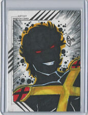 Sunspot 2015 Marvel Fleer Retro Sketch Card Jucylande Paula de Oliveira Jr.