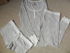Cotton Blend Animal Print Short Everyday Nightwear for Women
