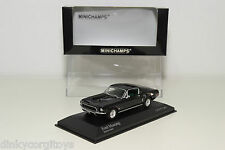 MINICHAMPS FORD MUSTANG 1968 BLACK MINT BOXED RARE SELTEN RARO