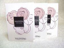 VALENTINA by Valentino- Lot of (3) EDP Spray Samples- .05 oz ea - New on Cards