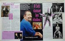 MAURICE BEJART =>  2 pages 2007 french CLIPPING / COUPURE DE PRESSE