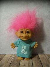 "5"" Pink Haired Russ Troll- Patient, Sick, Ill, Hospital, Gown, Tush, Bum, Bottom"