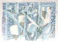 Eduard Bargheer (1901-1979) signierte Farblithographie, Probedruck, 1965