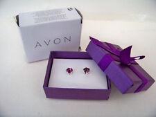 Avon Silver Plated Costume Earrings