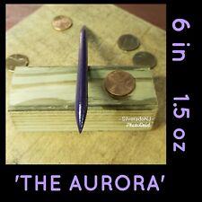 """""""THE AURORA"""" BLACK STEEL NINJA DOUBLE SPEAR TIP THROWING TORPEDO SPIKE"""