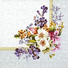 4x Paper Napkins for Decoupage Vintage Palace Oriental Garden