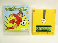 KICK AND RUN No Instruction Nintendo Famicom Disk Japan Game dk