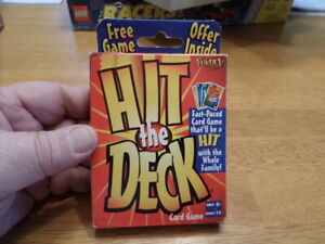 Hit The Deck Card Game by Fundex 2-6 Players Age 6+
