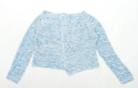 Klass Womens Size M Blue Cardigan (Regular)