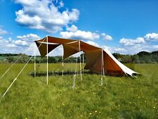 Bedouin tent with 5 awning sails and wooden poles. RRP £600.