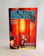 The Dragon Reborn-Robert Jordan-SIGNED!-INSCRIBED!-First/1st TPB-Bk 3-VERY RARE!