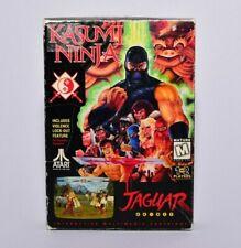 Kasumi Ninja Atari Jaguar Complete in Box