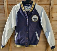 UCLA Vintage Inspired Los Angeles Collegiate Baseball Jacket Boys Size M