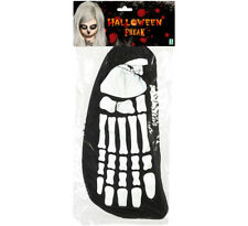 Funda de pies esqueleto hueso huesos talla unica carnaval fiestas Halloween