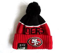 New Era SAN FRANCISCO 49ers NFL Bobble Beanie Hat Wool Toque American Football